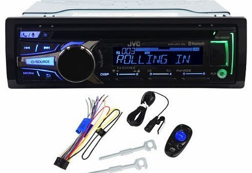 KD-R950BT AM/FM CD/USB/Bluetooth iPhone/Android Player Car Stereo Receiver by JVC