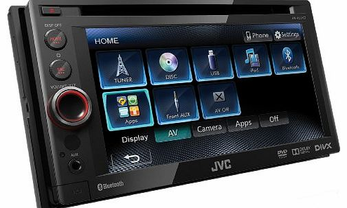 KW-AV61BT Double Din AV System with Built In Bluetooth