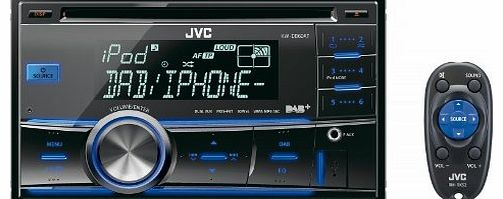 KW-DB60AT Double Din Car Stereo with Built in DAB Tuner