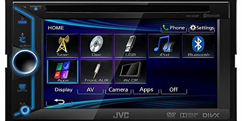 KW-V20BT Double Din Bluetooth AV System