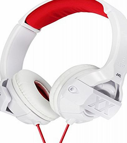 JVC Xtreme Xplosives On-Ear Headphones - White