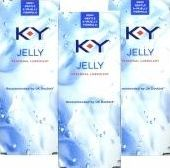 K-Y Jelly, 2102[^]0030994 Personal Lubricant 50ml - Triple Pack