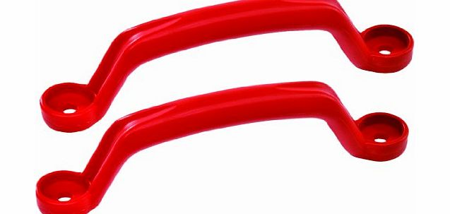 KBT Garden Games Red Plastic handles for use on climbing frames and outdoor play equiptment product image