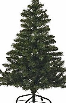 Kingfisher 4FT (122cm) Green Christmas Tree - Artificial for indoor use
