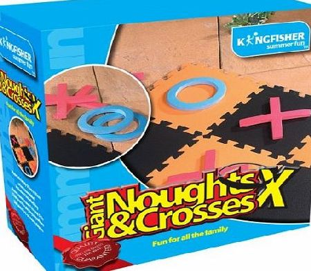 Kingfisher King Fisher GA005 ``Giant Noughts and Crosses`` Garden Game