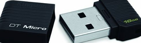Kingston Technology 16GB DataTraveler Micro USB Flash Drive product image