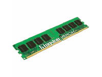 KINGSTON ValueRAM - Memory - 1 GB - DIMM 184-PIN - DDR - 333 MHz / PC2700 - CL2.5 - 2.5 V - unbuffer