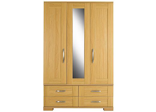 oak furniture land beds reviews : kingstown furniture ltd toulouse 3 door combi wardrobe from www.comparestoreprices.co.uk size 520 x 373 jpeg 57kB