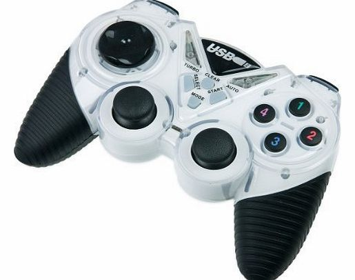 USB Gamepad / Joypad for PC XP/Vista/Windows 7 - Full Vibration Feedback