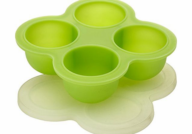 Kitchen craft silicone 4 hole baby food freezer pod for Kitchen craft cookware prices