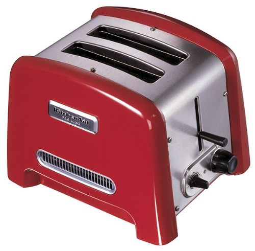 Red kitchen aid pictures - Artisan toaster slice ...