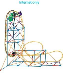 K Nex Supernova Blast Roller Coaster Instructions