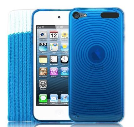 Kolay 5G Touch Blue Silicone Protective Armour Case   Sock Cover