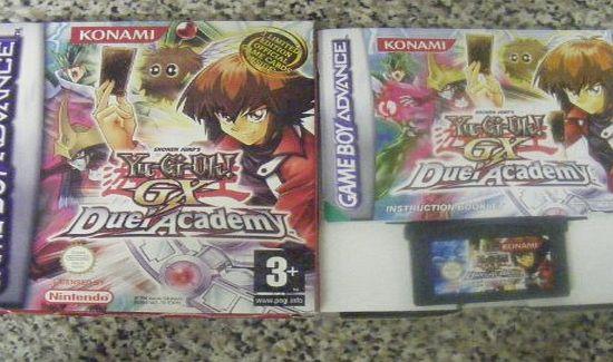 Isos de Game Boy Avanced Konami-yu-gi-oh-gx-duel-academy-gba