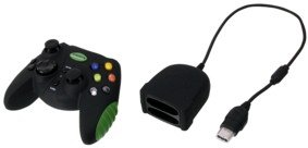 Konig Xbox and Xbox 360 Soft Touch Wireless controller product image