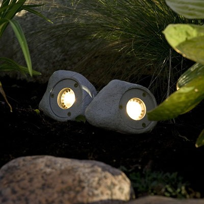Cheap solar rock lights