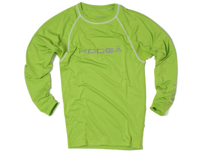 Kooga  Kooga Power Kids Baselayer Cold LS T-Shirt Green product image