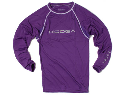 Kooga  Kooga Power Kids Baselayer Cold LS T-Shirt Purple product image