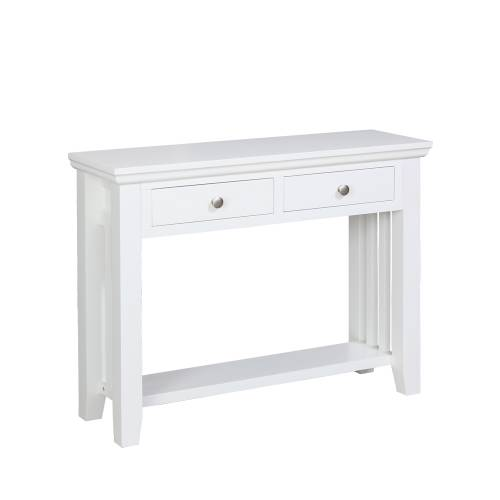 Kristina painted furniture kristina white painted console table review compare prices buy online - White hall table uk ...