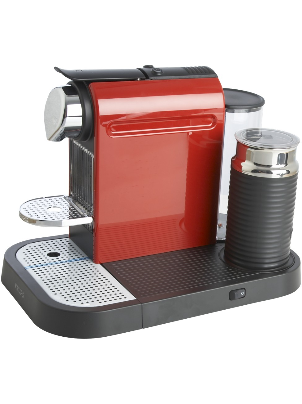 Krups Coffee Maker Red : Krups Red Nespresso Citiz & Milk Coffee Maker - review, compare prices, buy online