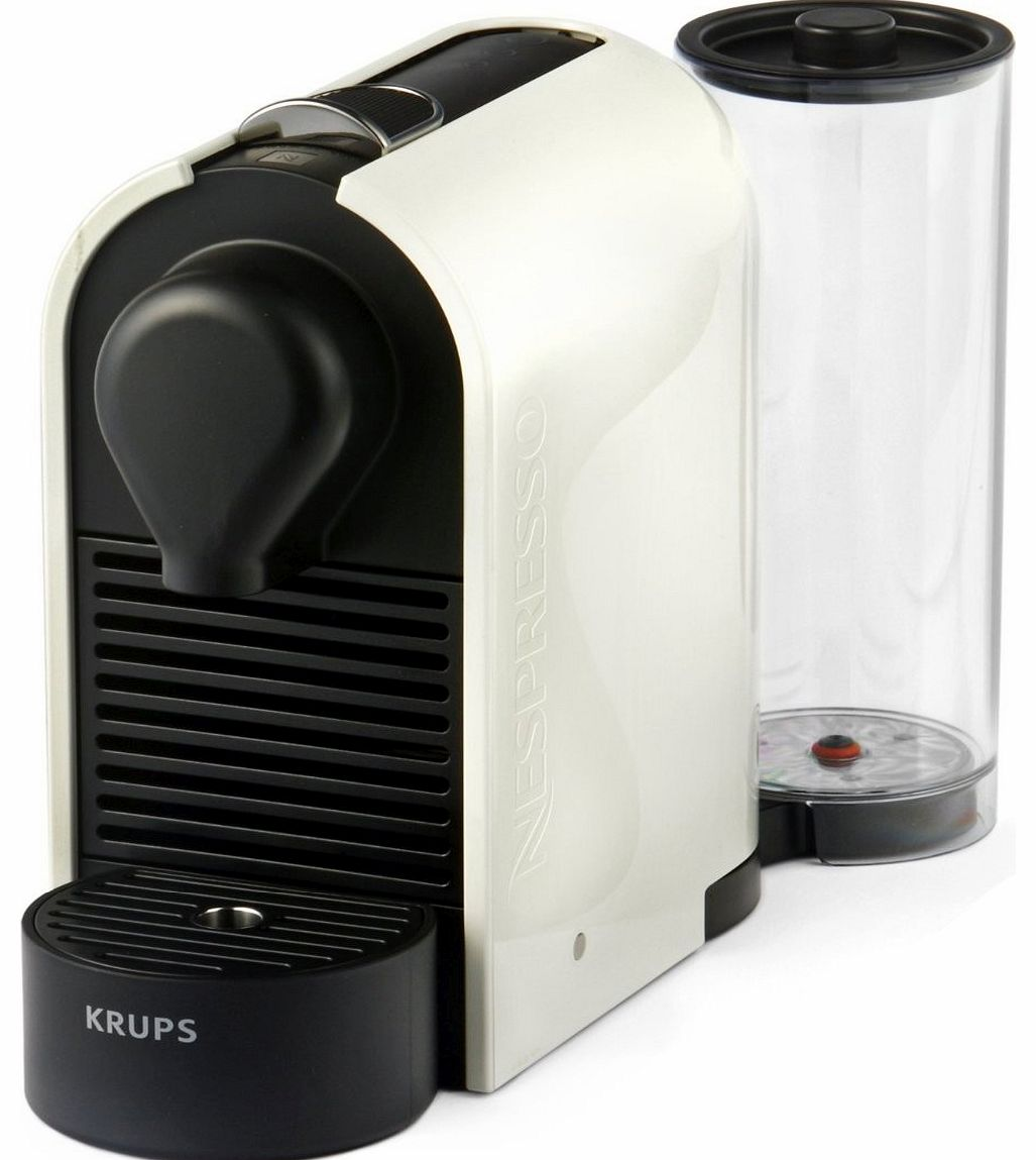 coffee makers krups nespresso u coffee machine by krups. Black Bedroom Furniture Sets. Home Design Ideas
