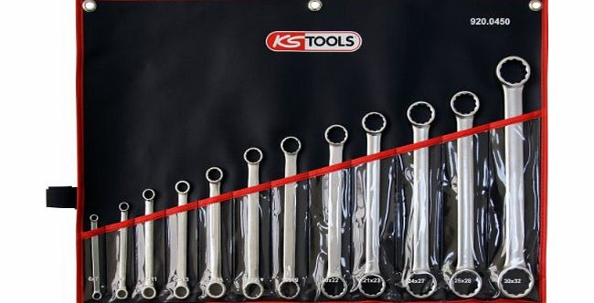 920.0450 ULTIMATE+straight ring spanner set,12pcs