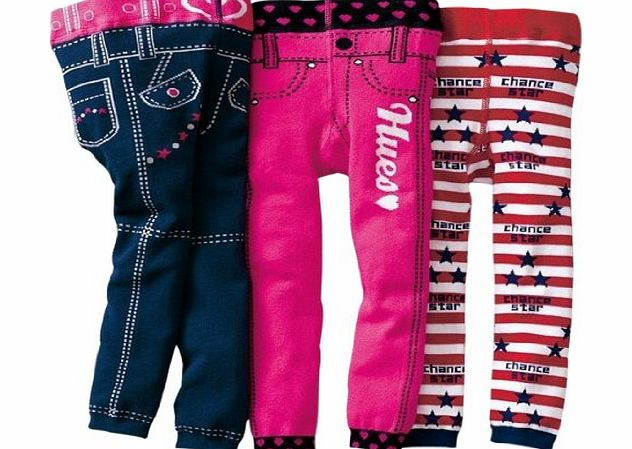 Kubee Baby 3pcs 1-6T Baby Pants Boy Girl Leggings Jeans Legs Kids Trousers Autumn Clothing
