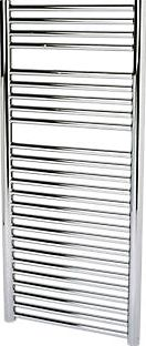 Kudox, 1228[^]52661 O Profile Towel Rail Chrome 1100 x 500mm