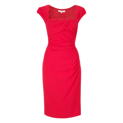 L.K. Bennett Tina Dress Colour Ruby
