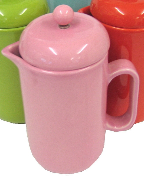 La Cafetiere Pura Pink Ceramic 8 Cup Cafetiere - review, compare prices, buy online