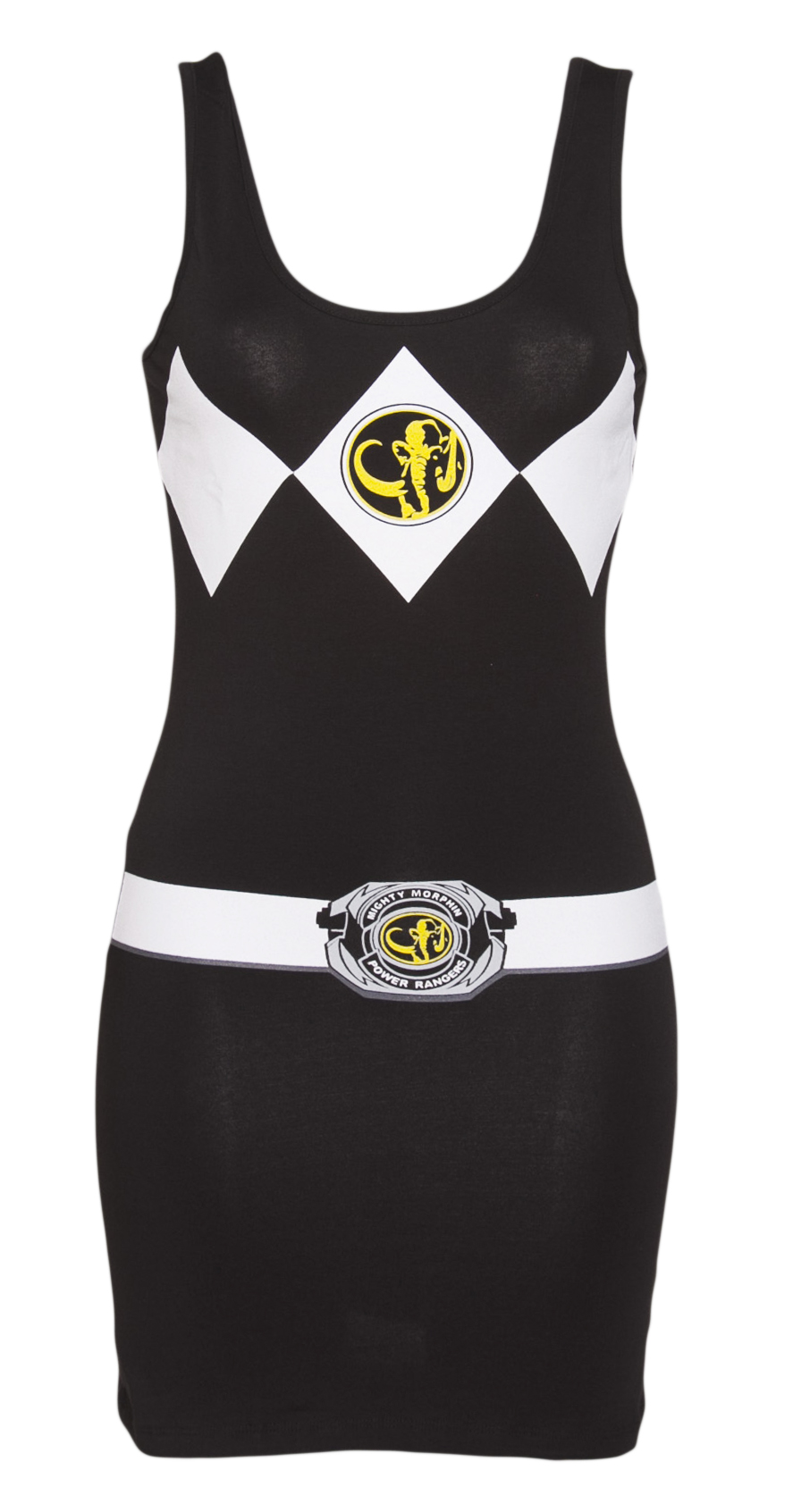 Ladies Black Mighty Morphin Power Rangers product image