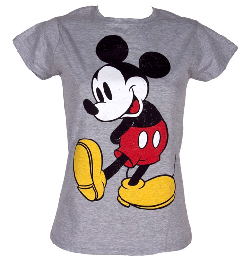 Ladies Classic Mickey Mouse T-Shirt
