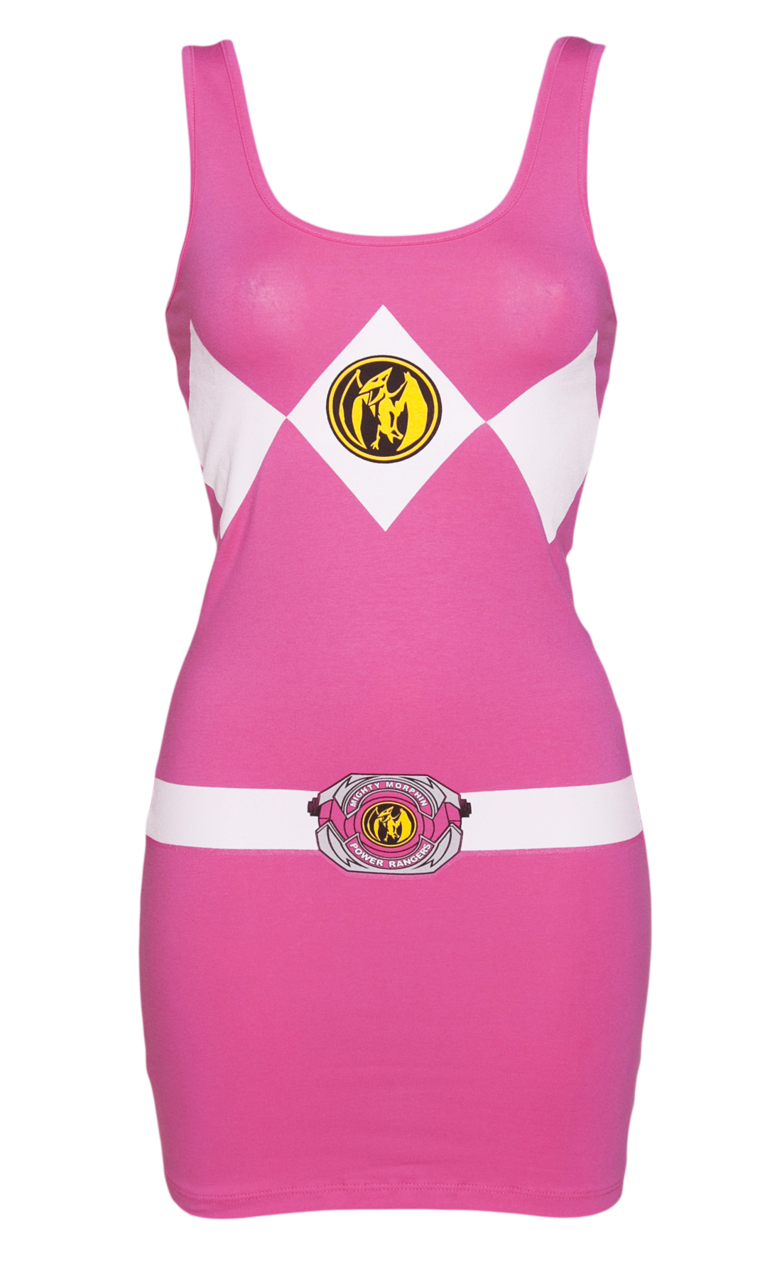 Ladies Pink Mighty Morphin Power Rangers Costume product image