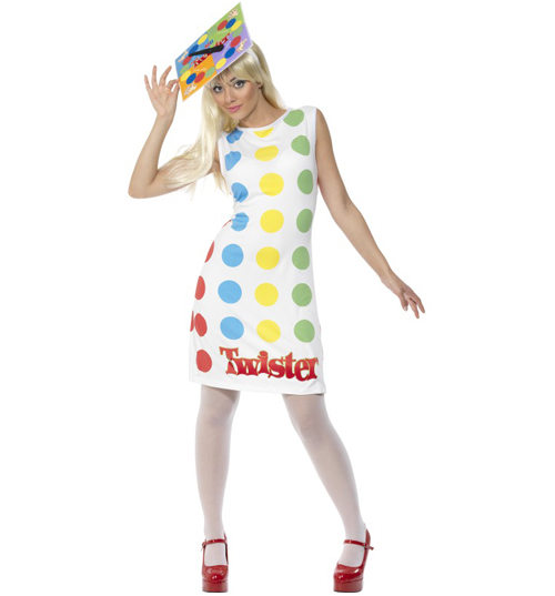 ladies Twister Fancy Dress Costume product image