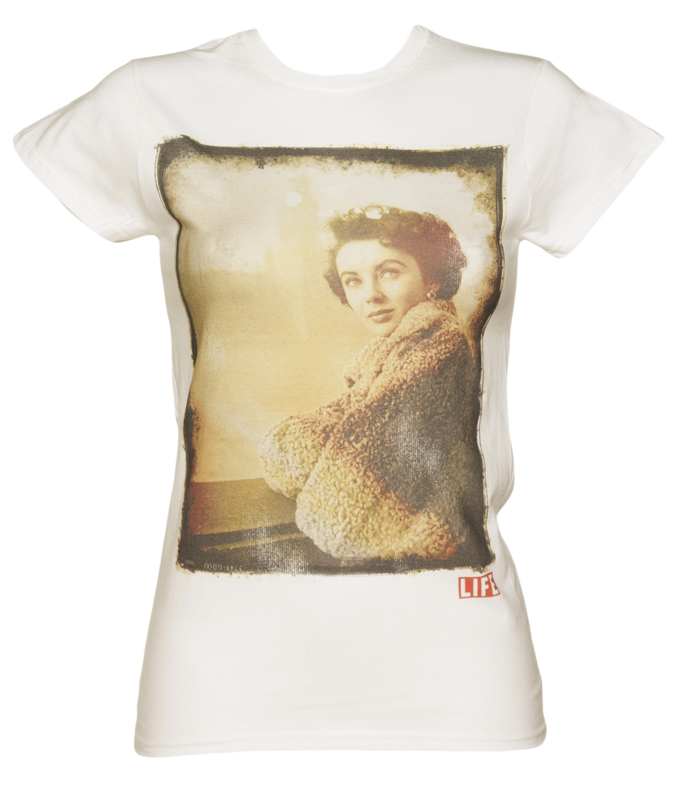 Ladies White Brunnette Hollywood Icon Life product image