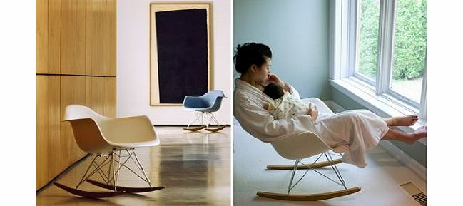 Comfortable relax wood rocking chair with foot rest design living room - King Chairs