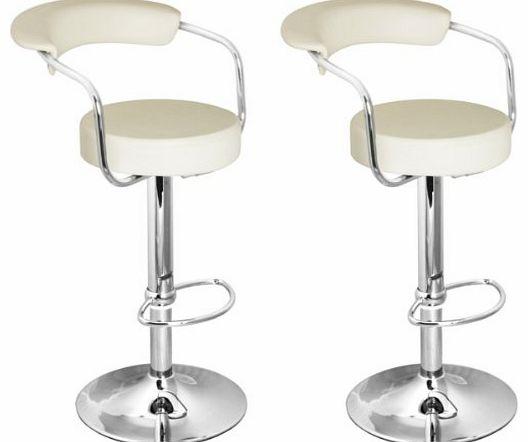 Lamboro Brand New Pair of Cream Faux Leather KitchenBar  : lamboro brand new pair of cream faux leather kitchen bar stools by lamboro from www.comparestoreprices.co.uk size 528 x 442 jpeg 18kB