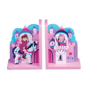 Fairytale Princess Bookends