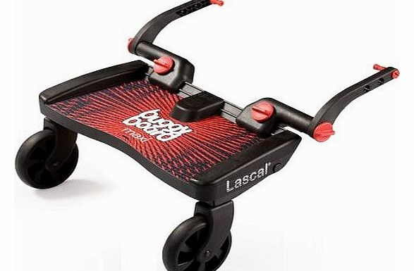 Lascal Maxi Buggy Board Black/Red
