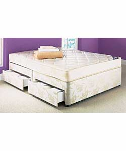 Double Divan Bed With4 Drawers