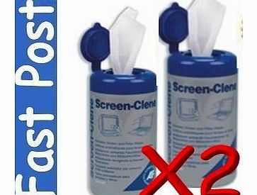 LCD Wipes 200 Screen LCD wipes Monitor Cleaner / Laptop TV Plasma, iPhone, iPad