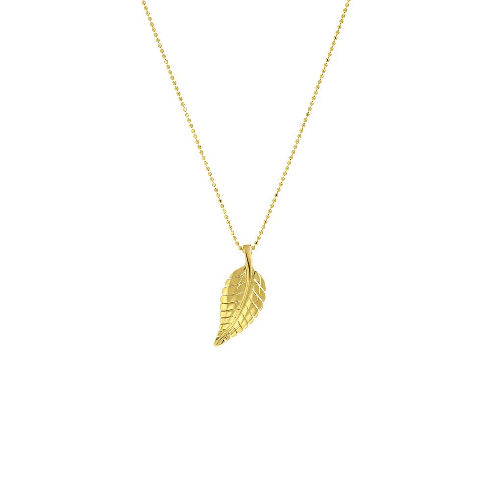 leaf necklaces