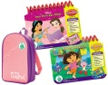 princess/dora the explorer with backpack