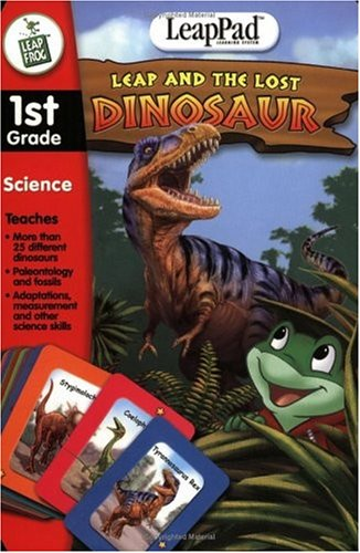 LeapFrog Leap and the Lost Dinosaurs - LeapPad Interactive Book product image
