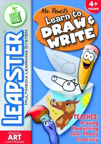 Mr Pencil Learn to Draw & Write - Leapster Software
