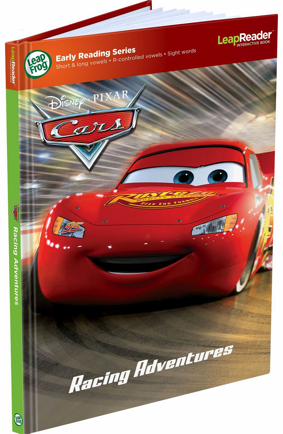 Cars Lightning Mcqueen Ultimate Race Set 9485 Tag Book Racing Adventures