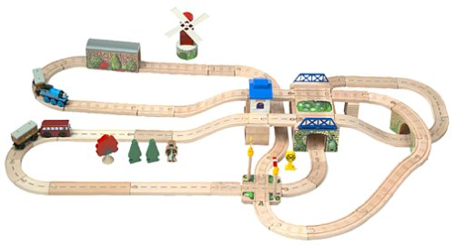 Thomas wooden railway tidmouth sheds deluxe set ~ Section sheds