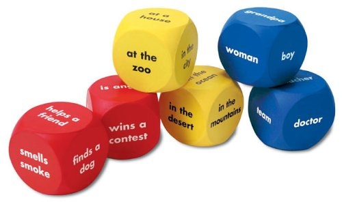 Learning Resources Soft Foam Story Word Cubes product image