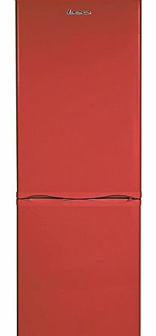 LEC  TF60183R Red Frost Free Fridge Freezer product image