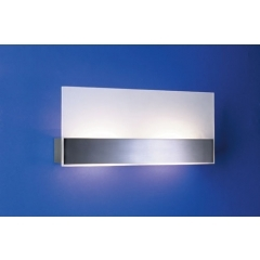 Leds-C4 Lighting Flat Satin Nickel Low Energy Wall Light Large - review, compare prices, buy online